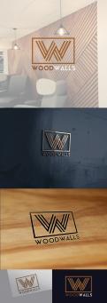 Logo # 1151584 voor modern logo voor houten wandpanelen wedstrijd
