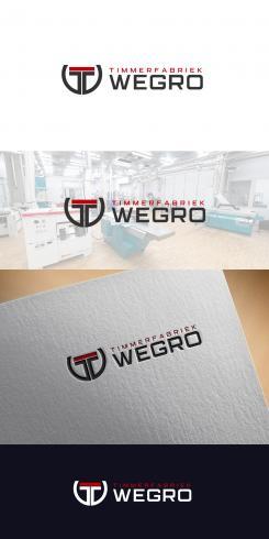 Logo design # 1239928 for Logo for 'Timmerfabriek Wegro' contest