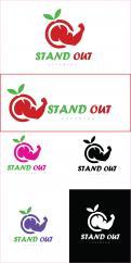 Logo # 1115651 voor Logo voor online coaching op gebied van fitness en voeding   Stand Out Coaching wedstrijd
