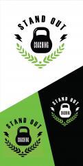 Logo # 1115255 voor Logo voor online coaching op gebied van fitness en voeding   Stand Out Coaching wedstrijd