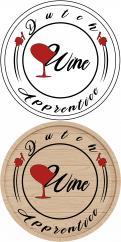 Logo # 1061990 voor Logo  plus social  voor Wine Blogger wedstrijd