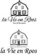 Logo # 1145635 voor Ontwerp een romantisch  grafisch logo voor B B La Vie en Roos wedstrijd