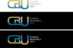 Logo # 611850 voor Ontwerp een zakelijk en rustig  logo voor de afdeling Clinical Research Unit (afkorting: CRU), een afdeling binnen het AMC; een groot academisch ziekenhuis in Amsterdam. wedstrijd