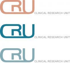 Logo # 610653 voor Ontwerp een zakelijk en rustig  logo voor de afdeling Clinical Research Unit (afkorting: CRU), een afdeling binnen het AMC; een groot academisch ziekenhuis in Amsterdam. wedstrijd