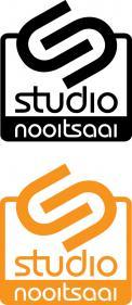 Logo # 1074826 voor Studio Nooitsaai   logo voor een creatieve studio   Fris  eigenzinnig  modern wedstrijd