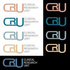 Logo # 610683 voor Ontwerp een zakelijk en rustig  logo voor de afdeling Clinical Research Unit (afkorting: CRU), een afdeling binnen het AMC; een groot academisch ziekenhuis in Amsterdam. wedstrijd