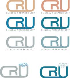Logo # 610587 voor Ontwerp een zakelijk en rustig  logo voor de afdeling Clinical Research Unit (afkorting: CRU), een afdeling binnen het AMC; een groot academisch ziekenhuis in Amsterdam. wedstrijd