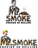 Logo # 1144787 voor Een ruige en stoere BBQ logo en huisstijl wedstrijd
