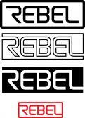 Logo # 423410 voor Ontwerp een logo voor REBEL, een fietsmerk voor carbon mountainbikes en racefietsen! wedstrijd