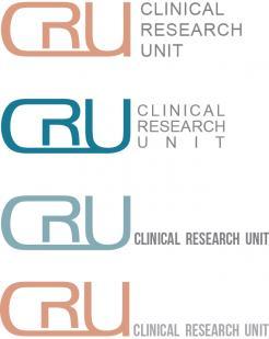 Logo # 611820 voor Ontwerp een zakelijk en rustig  logo voor de afdeling Clinical Research Unit (afkorting: CRU), een afdeling binnen het AMC; een groot academisch ziekenhuis in Amsterdam. wedstrijd
