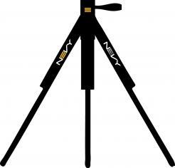 Logo # 1235903 voor Logo voor kwalitatief   luxe fotocamera statieven merk Nevy wedstrijd