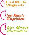Logo # 329534 voor LOGO LAST MINUTE VLIEGTICKETS  wedstrijd