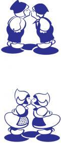 Logo # 1099885 voor Kissing Couple wedstrijd