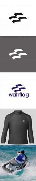 Logo design # 1207915 for logo for water sports equipment brand  Watrflag contest