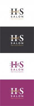 Logo # 445783 voor Emblem style logo for a elegant hair salon wedstrijd
