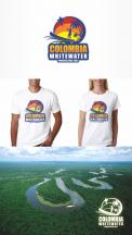 Logo design # 646359 for logo and t shirt design for Colombia Whitewater contest