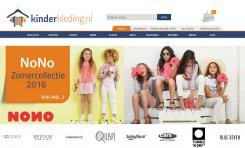 Kinderkleding Webshop.Ontwerpen Van N Kinderkleding Webshop Logo
