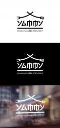 Logo # 1084241 voor ontwerp een horeca logo voor een nieuw te openen asian korean bbq restaurant wedstrijd