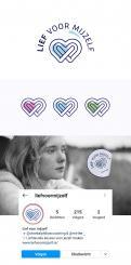 Logo # 1134559 voor Logo 'Lief voor mijzelf'   voorlichting aan kinderen en jongeren over depressie en sombere gevoelens wedstrijd