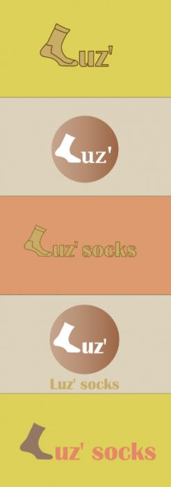 Logo design # 1151339 for Luz' socks contest