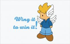 Logo design # 576490 for Wing it to win it! contest