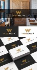 Logo design # 1151556 for modern logo for wood wall panels contest