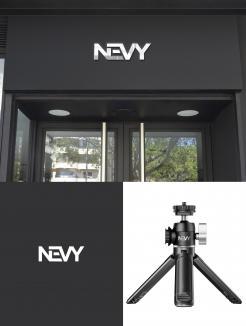 Logo # 1235033 voor Logo voor kwalitatief   luxe fotocamera statieven merk Nevy wedstrijd