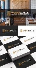 Logo design # 1151574 for modern logo for wood wall panels contest