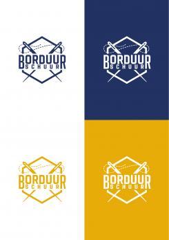 Logo # 1125610 voor Borduurschuur wedstrijd