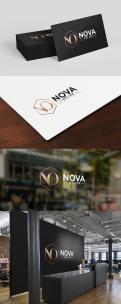 Logo # 983868 voor Logo for Nova Online   Slogan  We create new business wedstrijd