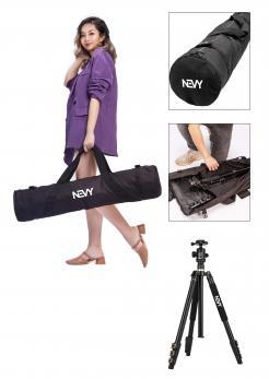 Logo # 1239201 voor Logo voor kwalitatief   luxe fotocamera statieven merk Nevy wedstrijd