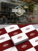 Logo # 1015719 voor Logo voor unieke Jamoneria  spaanse hamwinkel ! wedstrijd