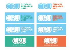 Logo # 611111 voor Ontwerp een zakelijk en rustig  logo voor de afdeling Clinical Research Unit (afkorting: CRU), een afdeling binnen het AMC; een groot academisch ziekenhuis in Amsterdam. wedstrijd