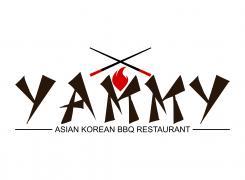 Logo # 1057644 voor ontwerp een horeca logo voor een nieuw te openen asian korean bbq restaurant wedstrijd