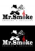 Logo # 1145808 voor Een ruige en stoere BBQ logo en huisstijl wedstrijd