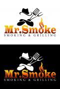 Logo # 1145809 voor Een ruige en stoere BBQ logo en huisstijl wedstrijd