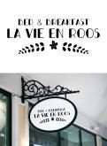Logo # 1141908 voor Ontwerp een romantisch  grafisch logo voor B B La Vie en Roos wedstrijd