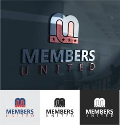 Logo design # 1123825 for MembersUnited contest