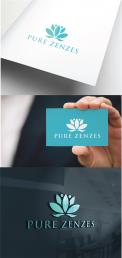 Logo # 931755 voor Logo voor een nieuwe geurlijn:  Pure Zenzes wedstrijd