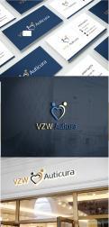 Logo # 1016825 voor LOGO VZW AUTICURA  want mensen met autisme liggen ons nauw aan het hart! wedstrijd