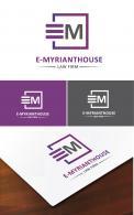 Logo design # 831140 for E Myrianthous Law Firm  contest