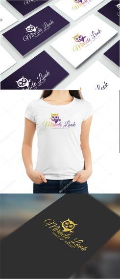 Logo  # 1092775 für junge Makeup Artistin benotigt kreatives Logo fur self branding Wettbewerb