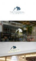 Logo design # 1062784 for The Financial Summit   logo with Summit and Bull contest