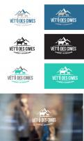 Logo design # 1109090 for Logo for a veterinary practice specialized in large animals in the french Alps contest