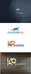 Logo design # 1206907 for Design an unic logo for my company   Kuipers K9    specialized in dogtraining contest
