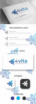 Logo design # 1212854 for 4Vita coaches gifted children  highly intelligent   their parents and schools contest