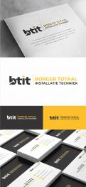 Logo design # 1231369 for Logo for Borger Totaal Installatie Techniek  BTIT  contest