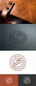 Logo # 1240922 voor Logo voor Tassen en lederwaren designer  Studio Bongaarts in Amsterdam  Steekwoorden  onderweg zijn  moderne retro wedstrijd