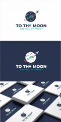 Logo design # 1230692 for Company logo  To The Moon Development contest