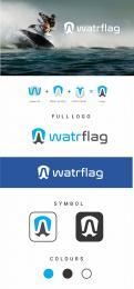 Logo design # 1205016 for logo for water sports equipment brand  Watrflag contest